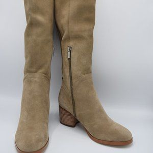 Marc Fisher Medium Calf Suede Boots - Elanie